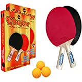 Dhupar Products Wood Table Tennis Set (Dp-Fine-2)