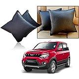 Car Vastra Cushion Pillow Set Black Color For Car & Home For - Mahindra Nuvo Sport