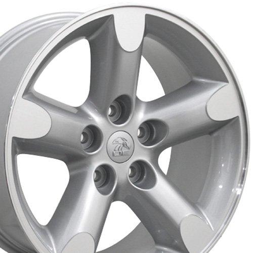 20×9 Wheel Fits Dodge Trucks – Ram 1500 Style Silver Rim Mach'd Face