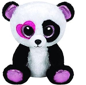 Amazon.com: Ty Beanie Boos Mandy - Panda Regular: Toys & Games