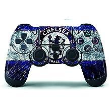 Elton PS4 Controller Designer 3M Skin For Sony PlayStation 4 , PS4 Slim , Ps4 Pro DualShock Remote Wireless Controller (set Of Two Controllers Skin) - Chelsea Logo
