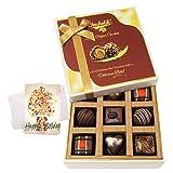 Surprises Of Tasty Chocolates With Birthday Card - Chocholik Luxury Chocolates