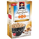 Quaker Select Starts Super Grains Honey Almond Instant Hot Cereal, 6 Ct (Pack Of 3)