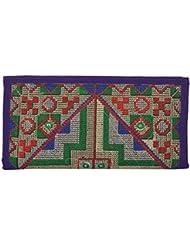 Utsav Women's Multicolour Clutch (Utsav 124)