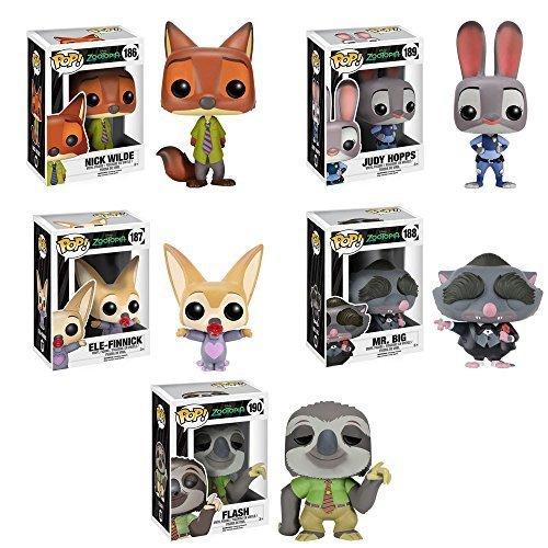 Zootopia Pop figures