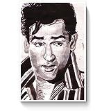 PosterGuy Shammi Kapoor Bollywood Painting Bollywood, Famous Celebrities, Paintings, Bollywood Sketch, Bollywood Paintings Poster