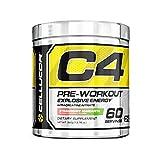 Cellucor C4 Explosive Preworkout Supplement, ORANGE DREAMSICLE, 60 Servings