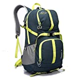 LOCALLION 40L Rush Mountaineering Outdoor Riding Backpack Waterproof Bags For Men And Women (Green Color)