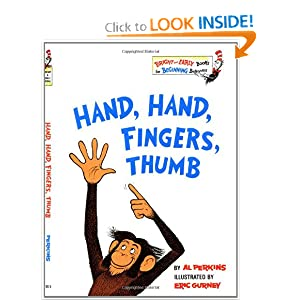 Hand Hand Fingers Thumb Book