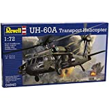 Revell Germany Uh 60 A Transport Helicopter Model Kit (1:72 Scale)