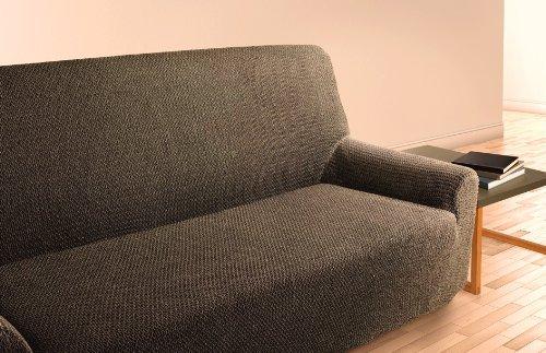 Sofabezug TOKIO - Sofahusse - Sofa Bezug elastischer Couchbezug für 1, 2 und 3 Sitzer, Größe/Size/Taille:Sessel / 1-Sitzer