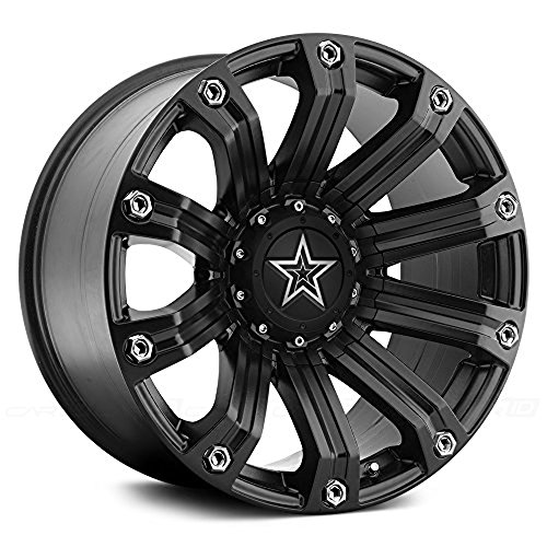 TIS 534B 20 Black Wheel / Rim 6×135 & 6×5.5 with a 18mm Offset and a 108 Hub Bore. Partnumber 534B-2096818-2