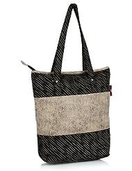 Home Heart Women's Eco Friendly Tote Bag (Grey/Beige)