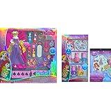 Disney Princess Childrens Cosmetic Gift Set 13 Pcs , Disney Princess Royal Nail Art Collection 8 Pcs And Disney...
