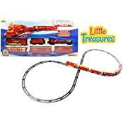 Classic Train Set With Tracks Toy This Locomotive Play Set Is Fun For Children 3+ Good Gift For Boys And Girls