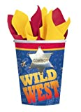 Wild West Paper Cups 8ct