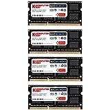 Komputerbay MACMEMORY 32GB Dual Channel Kit 4x 8GB 204pin 1.35v DDR3-1867 SO-DIMM 1867/14900S (1867MHz, CL13)...