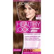 L'Oreal Paris Healthy Look Creme Gloss Color, Light Golden Brown/Golden Praline 6G (Pack Of 3)