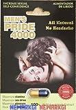 4 Pack Men's Pride 4000 Natural 1000mg Herb Extract Male Enhancement Aumentador De Libi by Men's Pride 4001