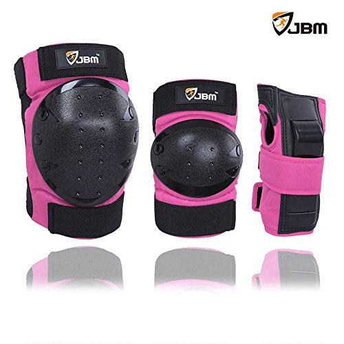 JBM Inline & Roller Skate Protective Gear for Multi Sport Skateboarding, Scootering, Bmx, Biking, Cycling (Purple...