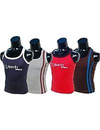 Men's Vest Inner Wear For Men's Gym Vest Men's Sport Vest Men;s Cotton Vest Pack Of 4 Pcs 100% Pure Cotton Best...