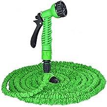 Generic Green : Garden Hose 250 FT Retractable Water Pipe Car Wash Water Telescopic Plumbing Tools Wash Tool Water...