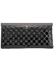Aadaana Women's Wallet (Black, ADLW-43)