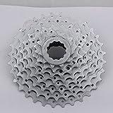 Generic White : Sunrace Mountain Bike Bicycle MTB 8 Speed Cassette Flywheel Bicycle Variable Speed Flywheel 340 G