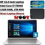 HP Envy X360 2-in-1 Convertible 15.6-Inch FHD IPS Touchscreen Backlit Keyboard Laptop (Intel Core I7-7500U Dual-Core...