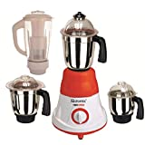 Rotomix 600 Watts MG16-43 Red And White 4 Jars Mixer Grinder Direct Factory Outlet