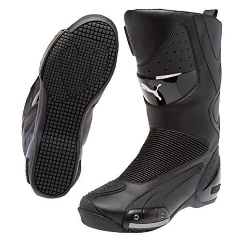 Puma プーマ 500 ライディング ブーツ 黒/EU42 (US9/27cm) [並行輸入品]