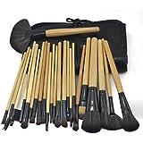 JOVANA Professional Makeup Brush 24pcs Set Brushes Set Tools Portable Full Cosmetic Brush Tools Foundation Eyeshadow...