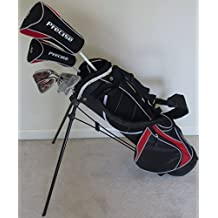 PG Golf Equipment Boys Junior Golf Club Set With Stand Bag For Kids Ages 8-12 Jr. Right Handed Premium Professional...