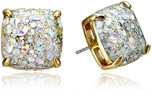 kate spade new york Small Square Opal Stud Earrings