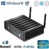 Micro PC Intel Core I3 Windows 10 Smart TV Box Mini Desktop Computer (4GB DDR3 RAM 64GB SSD, Intel Core I3)