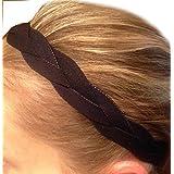 It's Ridic! No Slip Grip /Non-Slip Sports / Athletic Nylon Triple Braided Sports Headband