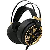 MarkFive MKⅢ Hi-Fi Gaming Headset, Ultralight Over-ear Headphone With Noise-cancelling Mic For PC Game