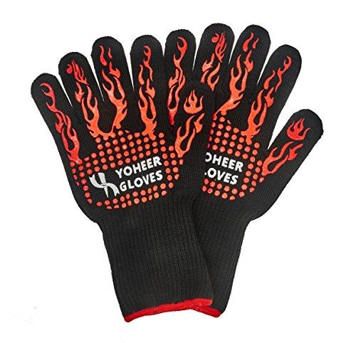 Yoheer 932F Oven Mitts,Cut & Heat Resistant
