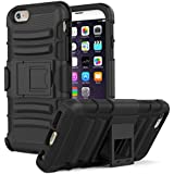 Apple IPhone 6S Plus Case CUBIX [Heavy Duty Series] Armor Holster Defender Full Body Protective Hybrid Case Cover...
