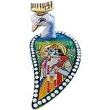 Radha Krishna Art And Kundan Marble Work Peacock Tilak Chopra Best Gift