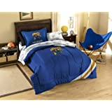 NCAA Kentucky Wildcats Tide Twin Comforter Sheets And Sham (5 Piece Bed In A Bag)