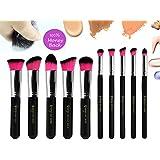 Qivange Premium Professional Synthetic Kabuki Makeup Brush Set Cosmetic Foundation Eyeshadow Blush Concealer Powder... - B01CQNPCQ0