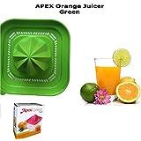 Apex Small Fruit Juicer Squeezer Manual Portable Orange Mosambi Juicer - Green Color