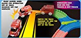 Mindscope Twister Tracks 254 BUMP & GO RACE SET Neon Glow in the Dark Series As Seen on TV Neo Tracks