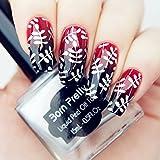 15ml Born Pretty Nail Art Stamping Polish Silver Nail Polish 2# # 22321