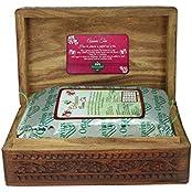 Octavius 200gms Whole Leaf Assam Tea In Carved Wooden Gift Box
