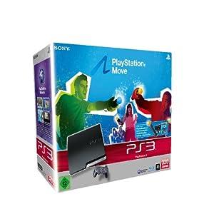 "PS3 - Konsole Slim Black 320GB ""Move Starter Pack"""