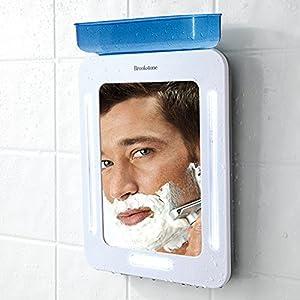Amazon.com: Brookstone Fogless Shower Mirror: Home & Kitchen