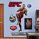 UFC George St. Pierre Wall Graphic by Fathead [並行輸入品]