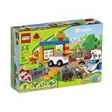 Game / Play LEGO DUPLO My First Zoo 6136. Toy Animals Blocks Keeper Plastic Vehicle Colorful Minifigure Toy /...
